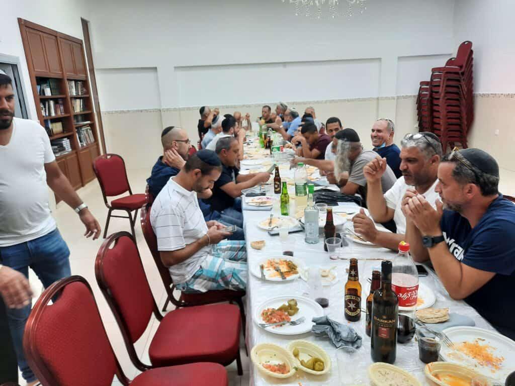 Bet Arif Birthday party for Rav Amzaleg